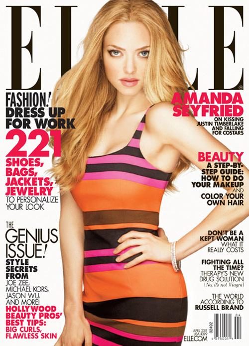 Amanda Seyfried - Elle Magazine