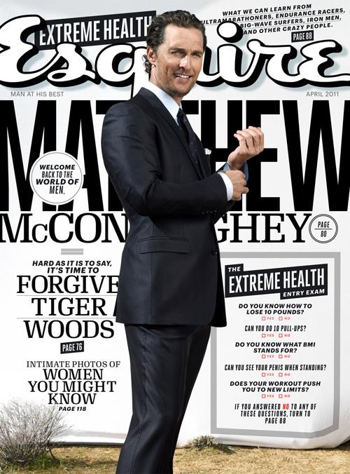 Matthew McConaughey - Esquire Magazine