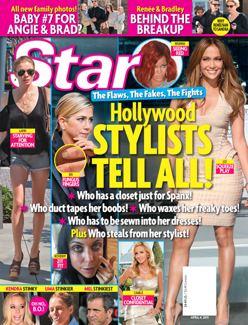 Star Magazine - Hollywood Stylists Tell All