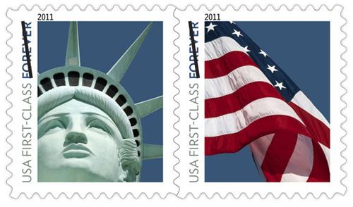 Las Vegas' Lady Liberty Stamp