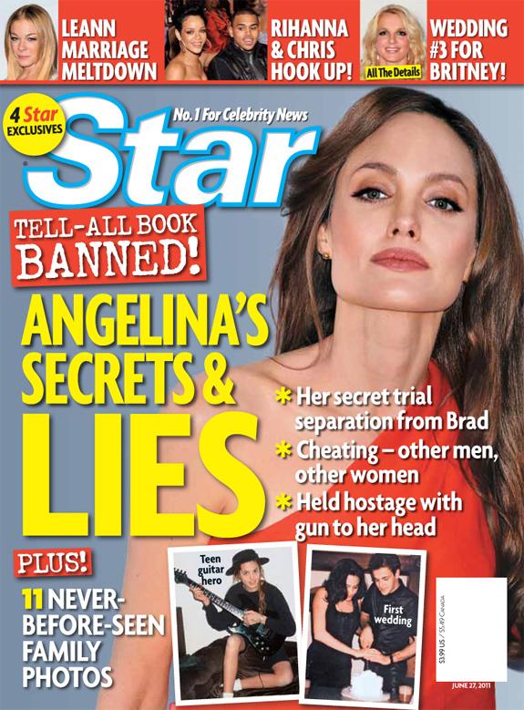 Angelina Jolie - Star Magazine