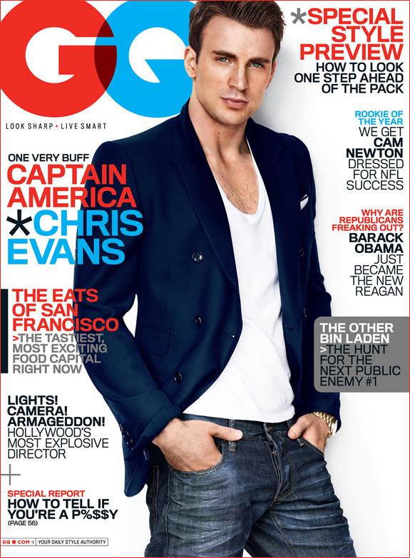 Chris Evans - GQ Magazine