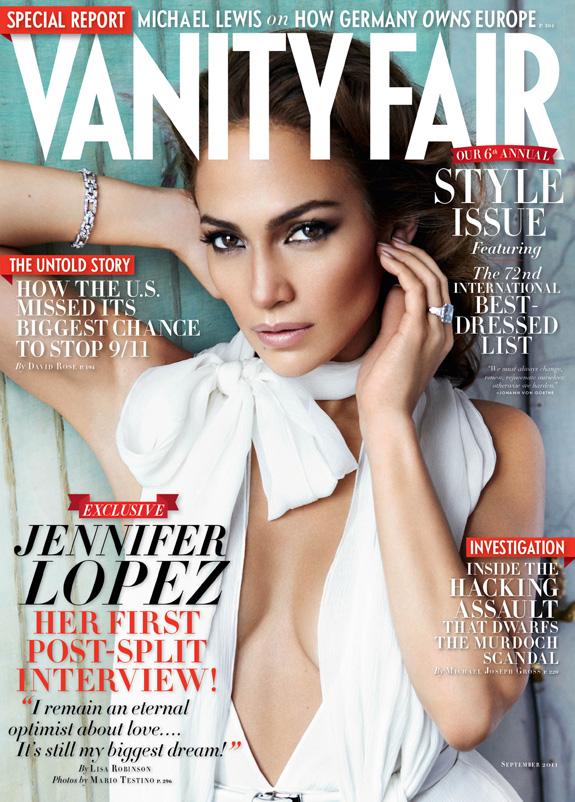 Jennifer Lopez - Vanity Fair