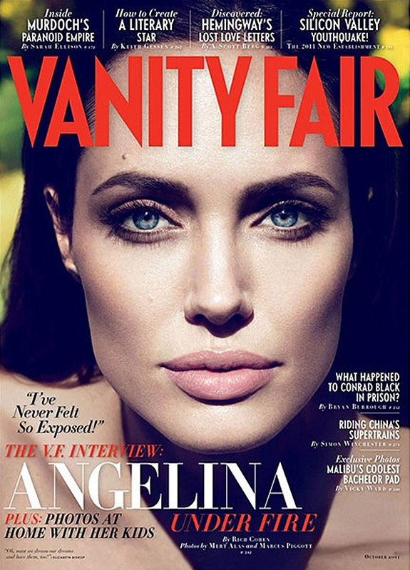 Angelina Jolie - Vanity Fair - October 2011
