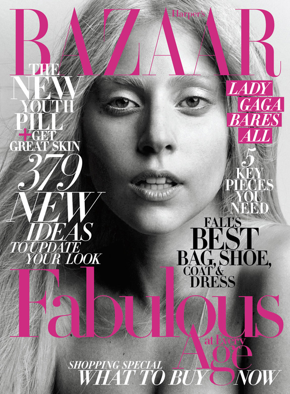 Lady Gaga - Harper's Bazaar - October 2011
