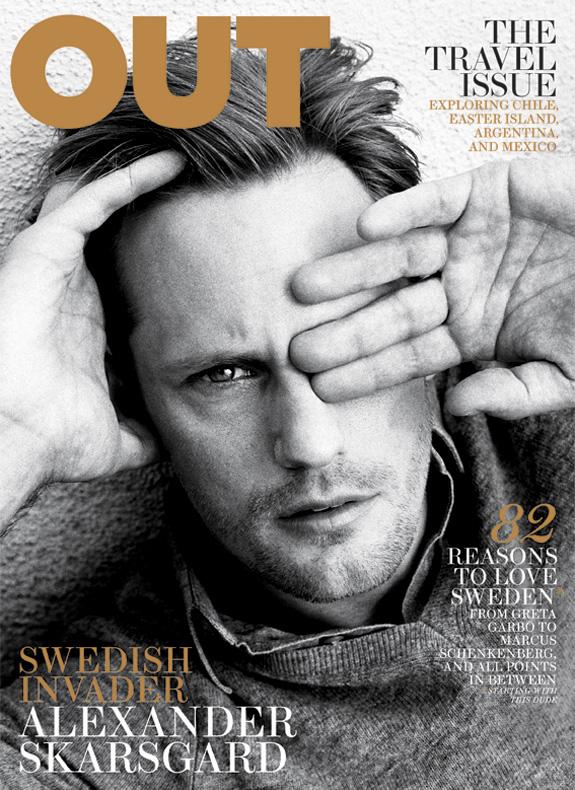 Alexander Skarsgård - OUT Magazine