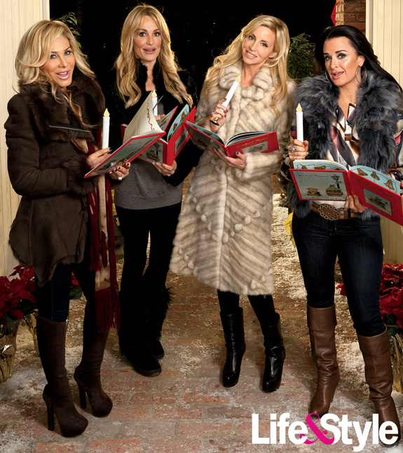 Taylor Armstrong, Camille Grammer, Kyle Richards, and Adrienne Maloof