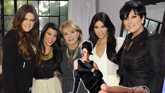 Barbara Walters, Janice Dickison and the Kardashians