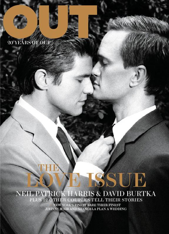 Neil Patrick Harris and David Burtka - OUT Magazine