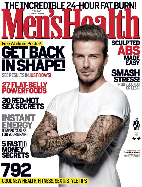 David Beckham - Men's Health