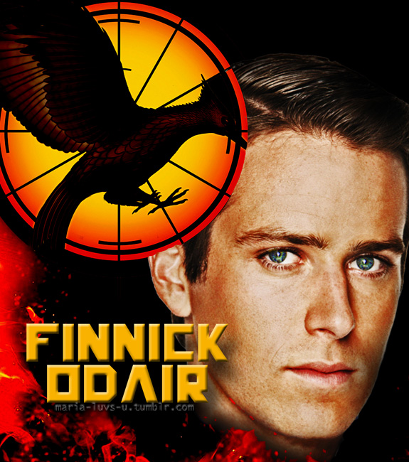 Armie Hammer as Finnick Odair