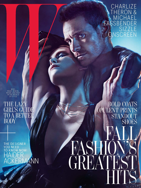 Charlize Theron and Michael Fassbender