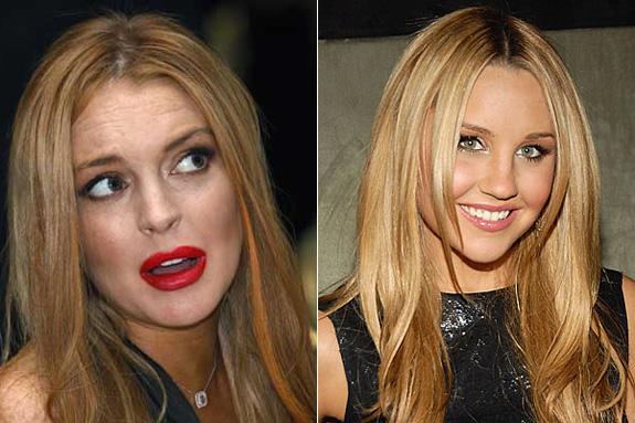 Lindsay Lohan and Amanda Bynes