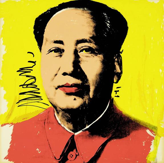 Mao Zedong / Andy Warhol