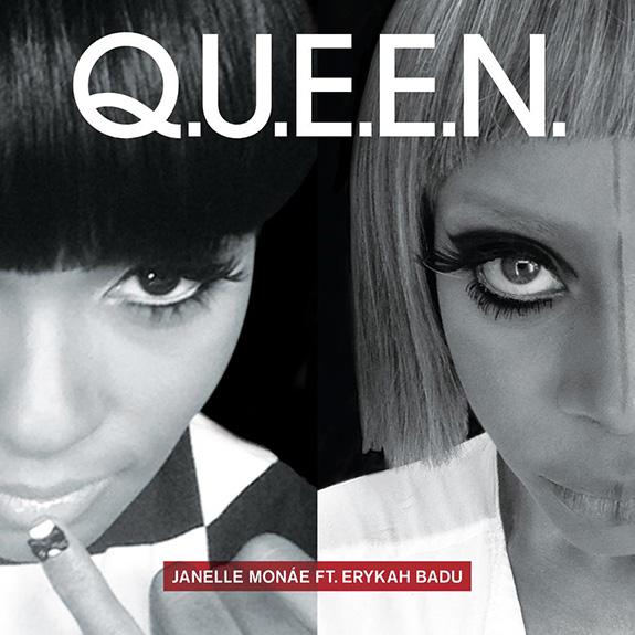 "Janelle Monáe ""Q.U.E.E.N."" (feat. Erykah Badu)"