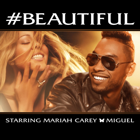 "Mariah Carey ""#Beautiful"" feat. Miguel"