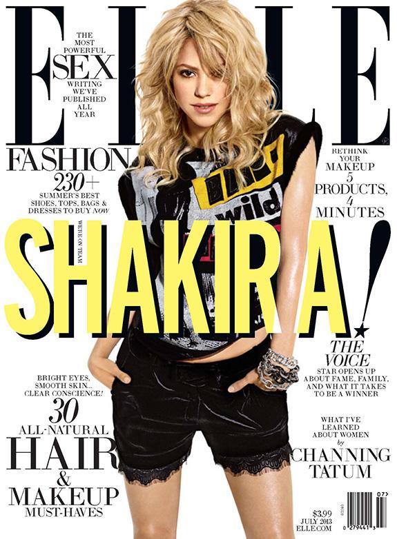 Shakira | Elle | July 2013