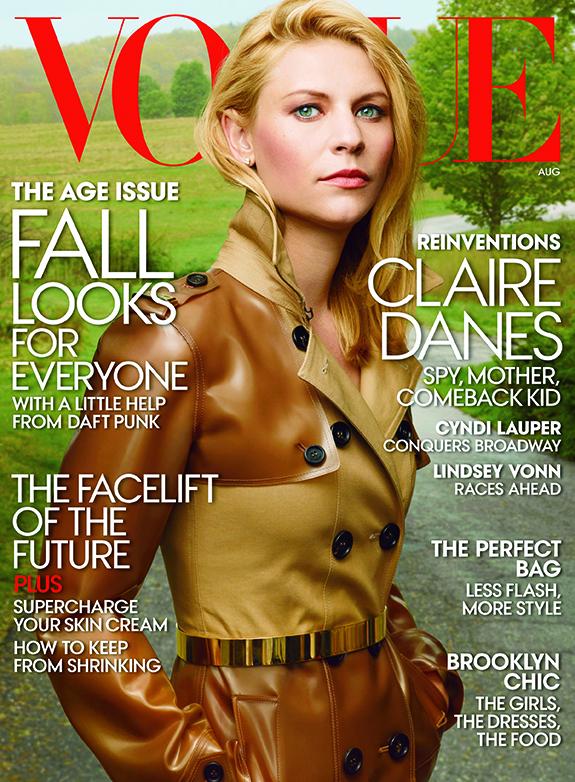 Claire Danes | Vogue | August 2013