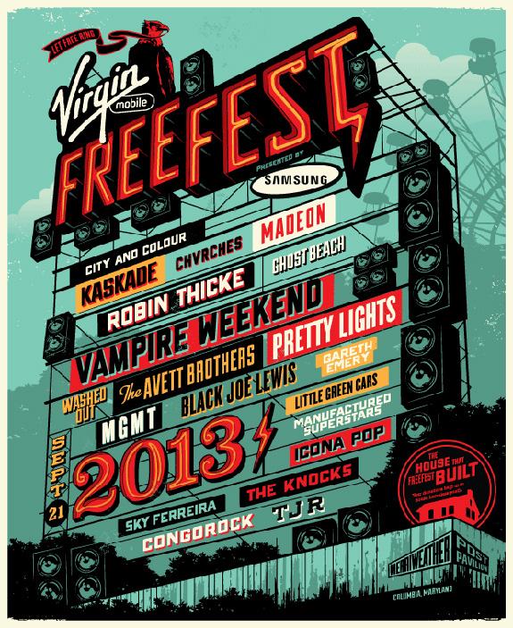 Virgin Mobile FreeFest 2013