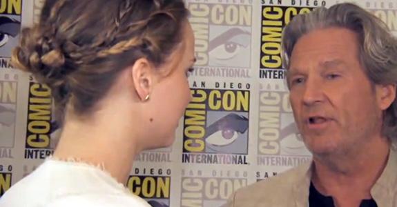 Jennifer Lawrence and Jeff Bridges