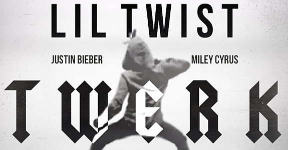 "Lil Twist ""Twerk"" featuring Miley Cyrus and Justin Bieber"