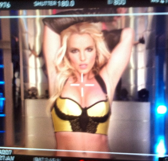 "Britney Spears ""Work Bitch"""