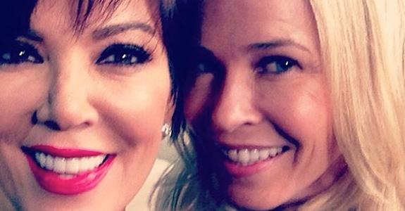 Chelsea Handler and Kris Jenner