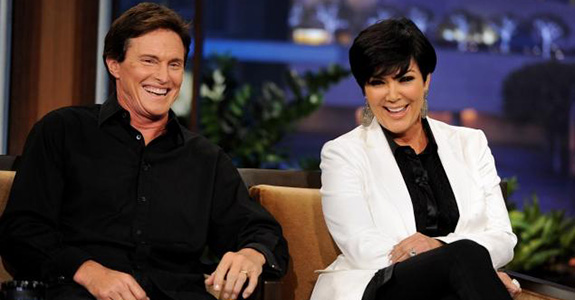 Kris Jenner and Bruce Jenner