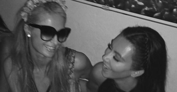 Kim Kardashian & Paris Hilton