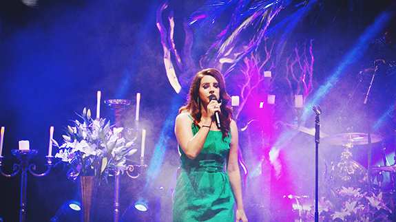 Lana Del Rey | Hollywood Forever Cemetery | October 18, 2014