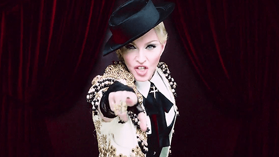 "Madonna ""Living For Love"""