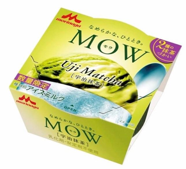 Mow ice ujimatcha