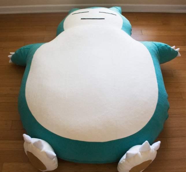 Pokemon kabigon bed 02