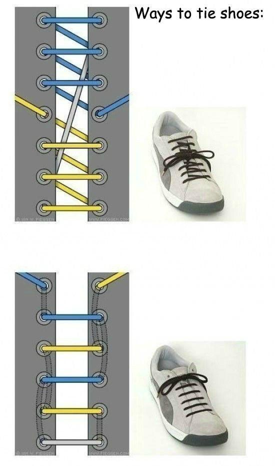 Tie Shoes 01