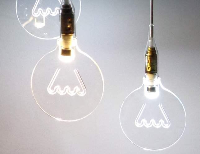 Led bulb in memory of Edisons bulb 01