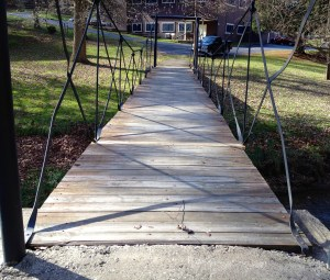 Bridge over Troublesome Creek