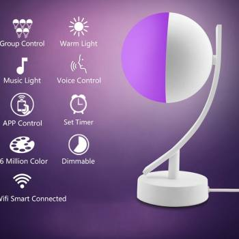 Space Smart LED Desk Lamp