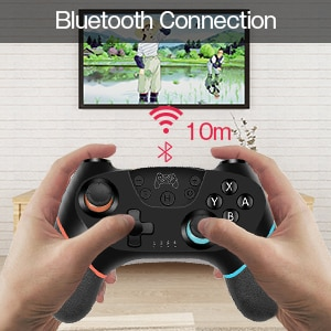 Wireless Bluetooth Gamepad For Nintend Switch Pro NS-Switch Pro Game joystick Controller For Switch Console with 6-Axis Handle