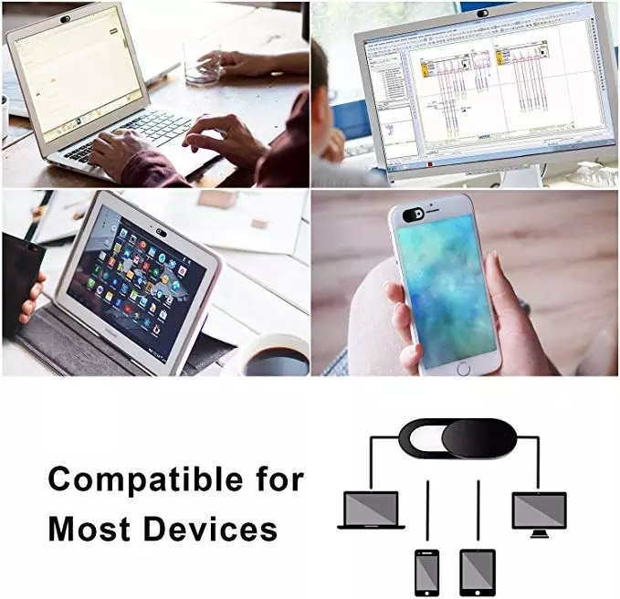 Webcam Cover Universal Phone Antispy Camera Cover For iPad Web Laptop PC Macbook Tablet lenses Privacy Sticker For Xiaomi