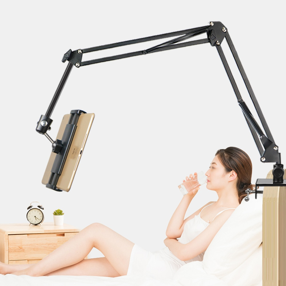tablet stands holder on bed for Ipad pro 11 12.9 2018 2020 Lazy Mobile Phone Support Bed Universal Lazy long arm desk holder