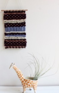 hand woven wall hanging decoration