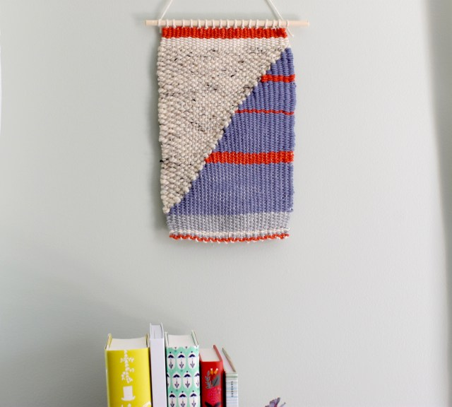 DIY Woven Wall Hanging | Popcorn & Chocolate