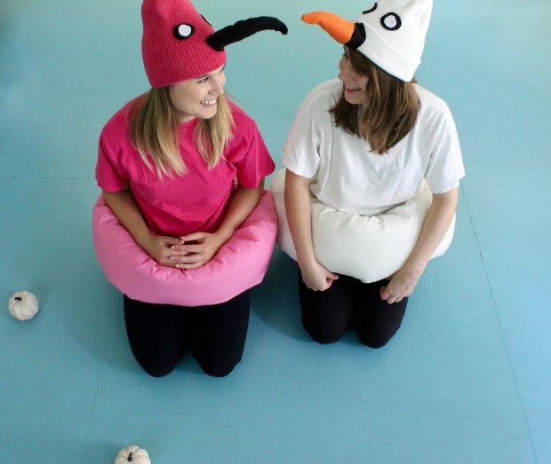 Bird pool float costumes | Popcorn & Chocolate