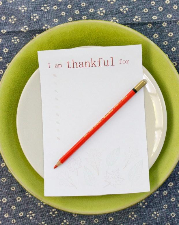 I am thankful for list | Popcorn & Chocolate