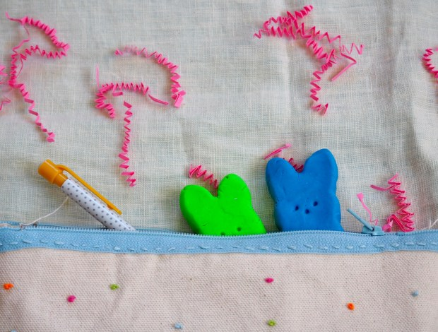 Do it yourself Easter bunny erasers   Popcorn and Chocolate
