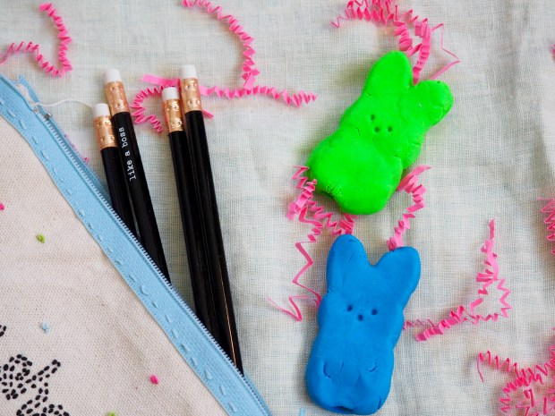 DIY Bunny Erasers | Popcorn and Chocolate
