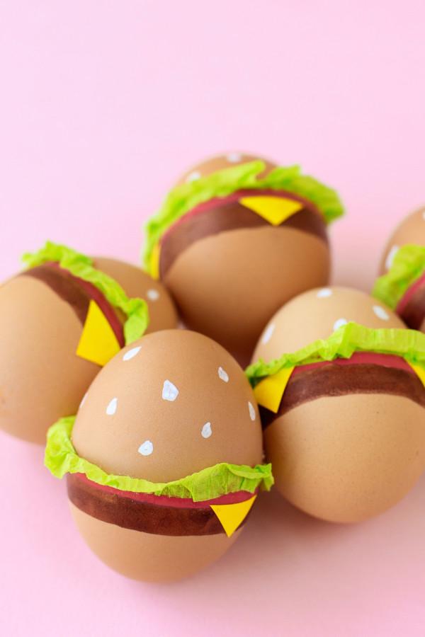 DIY Burger easter egg
