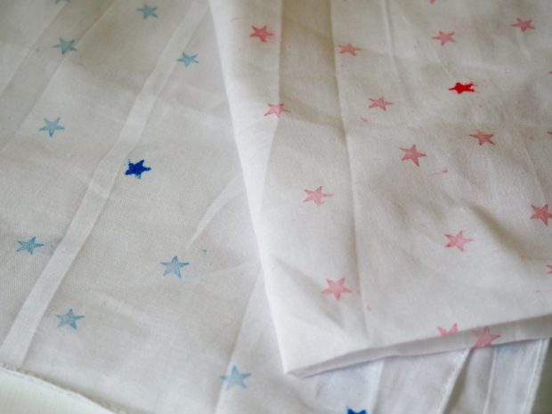 Easy Star Bandana for the 4th of July | Popcorn and Chocolate