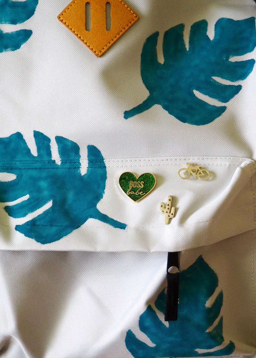 DIY Monstera Leaf Backpack | We're Going to Make it