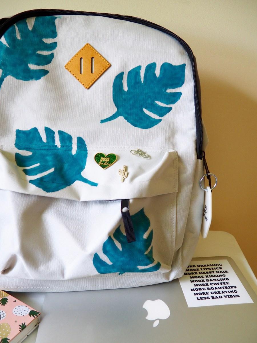 DIY Monstera Leaf Backpack   We're Going to Make it
